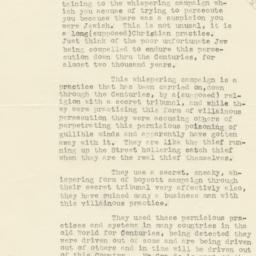 Anonymous letter sent to Se...