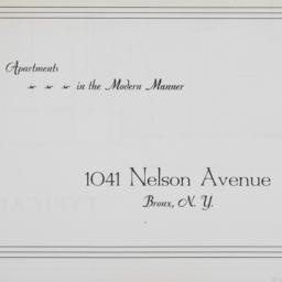1041 Nelson Avenue