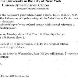 Announcements, 2002-06-17. ...