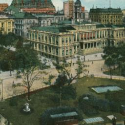 Broadway and City Hall, New...
