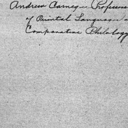 Carnegie General Donations,...