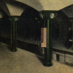 Hudson Tunnels. Train Platf...