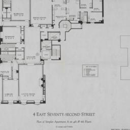 4 E. 72 Street, Plan Of Sim...