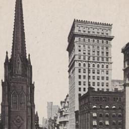 Lower Broadway, Trinity Chu...