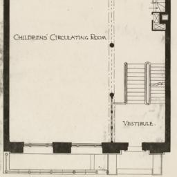 First floor plan. Public Li...