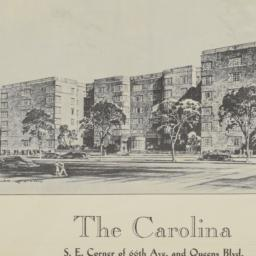 The     Carolina, 66 Avenue...