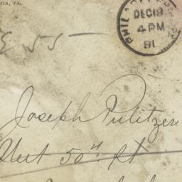 Envelope To Kate Davis Puli...