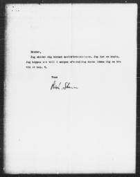 Memorandum from Richard Sterner to Gunnar Myrdal, January 1938(?)