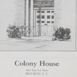 Colony House, 1620 E. 2 Street