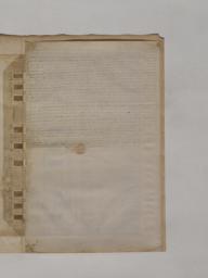 Serlio Book VI Plate 68 text verso