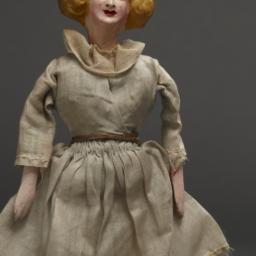 Marionette Of Young Girl Wi...