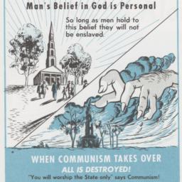 Man's Belief in God is Pers...