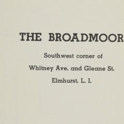 The     Broadmoor, Whitney ...