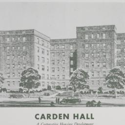 Carden Hall, a Cooperative ...
