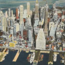 Air View of Manhattan's Eas...