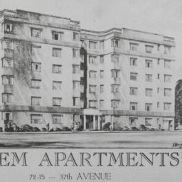 Salem Apartments, 72-15 37 ...