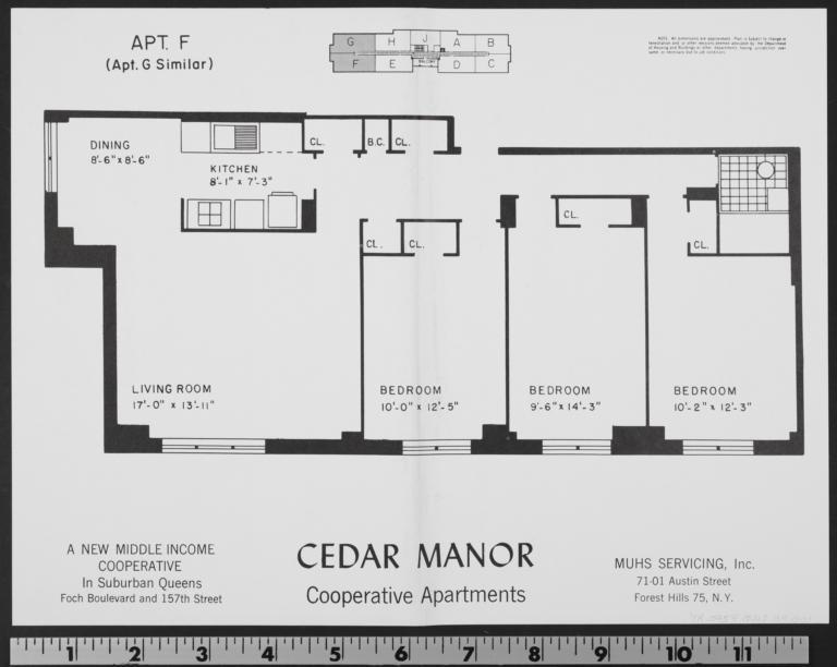Cedar Manor, 157 Street And 116 Avenue, Apt. F - Columbia Digital ...