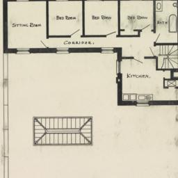 Fourth floor plan. Public L...