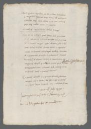 Report concerning Jew Muzetus of Bologna, dated July 21, 1495