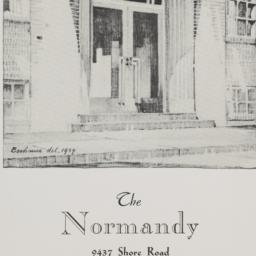 The     Normandy, 9437 Shor...