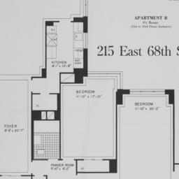 215 E. 68 Street, Apartment B