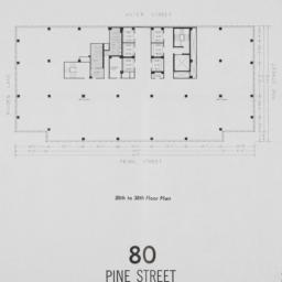 80 Pine Street, 30th To 38t...