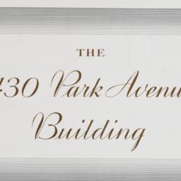 430 Park Avenue, The 430 Pa...