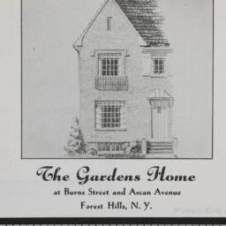 The     Gardens Home, Burns...