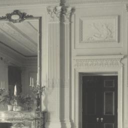 [White House, detail of Eas...