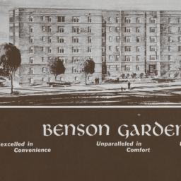 Benson Gardens, 16 Avenue A...