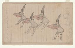 King Island Wolf Dancers with Audience and Musicians (recto)