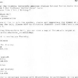 Correspondence, 2009-03-05....