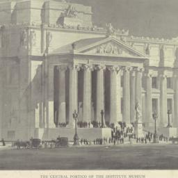The     Central portico of ...