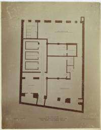 Basement Plan. Proposed New Building for the New York Clearing House. McKim, Mead & White, Arch'ts. No. 1 West 20th St. NY