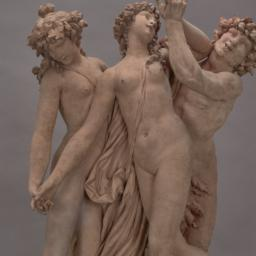 Satyr and Two Nymphs