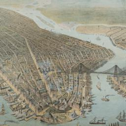 [Bird's-eye view of New York ]