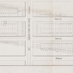 [Map of 50th Street to 53rd...