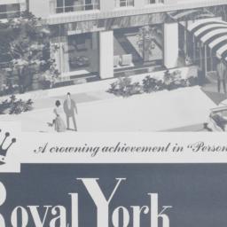 Royal York, E. 63 Street An...