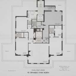 45 Gramercy Park, Plan Of P...