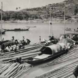 Sticks, Boats, River