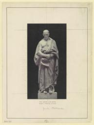 The Greek law giver. George T. Brewster, sculptor