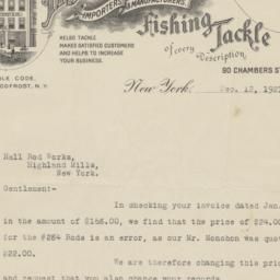 H. J. Frost & Co. Letter