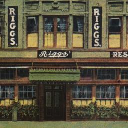 Rigg's Restaurant, 43-45-47...