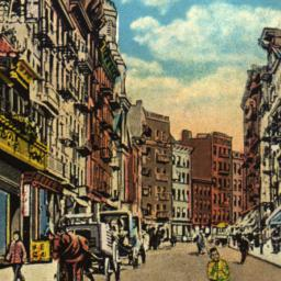 Mott Street, Chinatown, New...