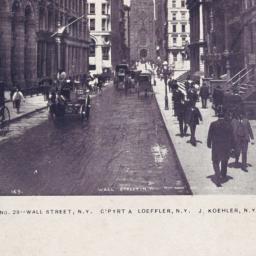Wall Street, N.Y.