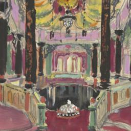 Sketch of a Ballroom for Eu...