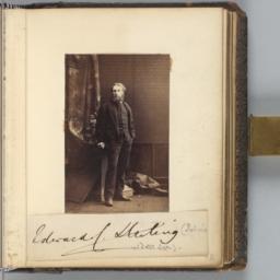 Edward C. Sterling, Standing
