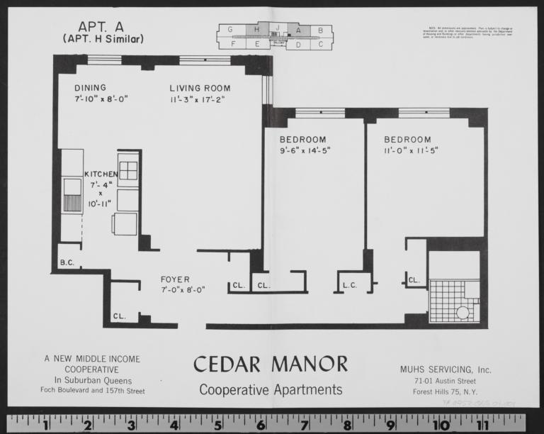 Cedar Manor, 157 Street And 116 Avenue, Apt. A - Columbia Digital ...