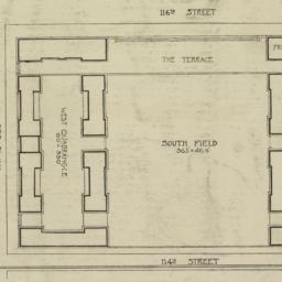 Plan of South Field