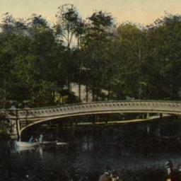 Bridge in Central Park, New...